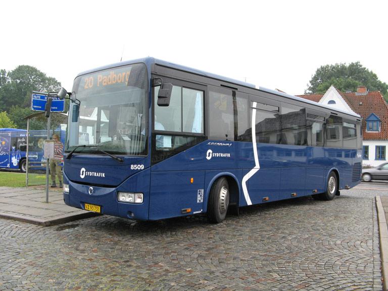 Tide Bus 8509/VZ93731 på Kruså rtb. den 18. juli 2009