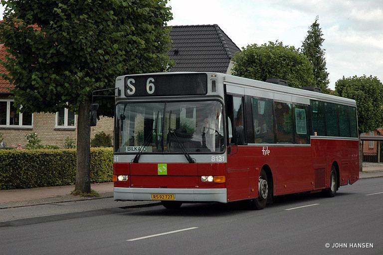 Tide Bus 8131/RS92727 på Munkebjergvej i Odense den 4. august 2009