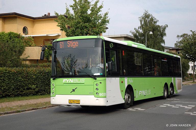 Tide Bus 8035/XJ94779 på Rosengårdsvej i Odense den 9. august 2009