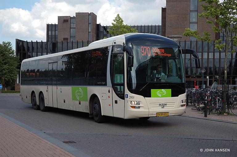 Arriva 2931/VH89851 i Odense den 21. juli 2007