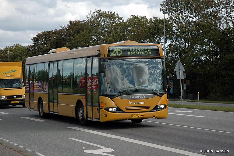 Århus Sporveje 106/RZ97695 i Hasselager den 18. september 2007