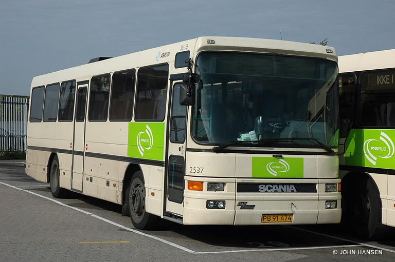 Arriva 2537/PB91474 i Odense den 24. september 2007