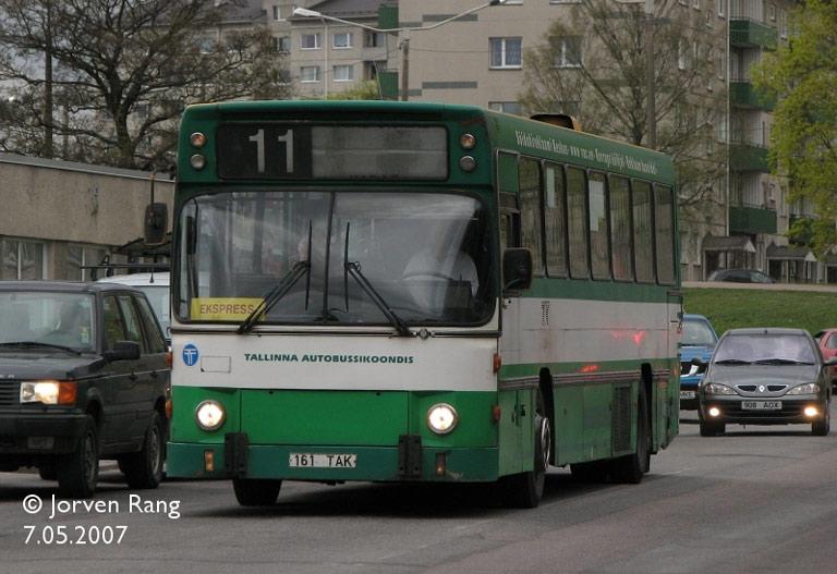 TAK 1161/161TAK i Tallinn i Estland den 7. maj 2007