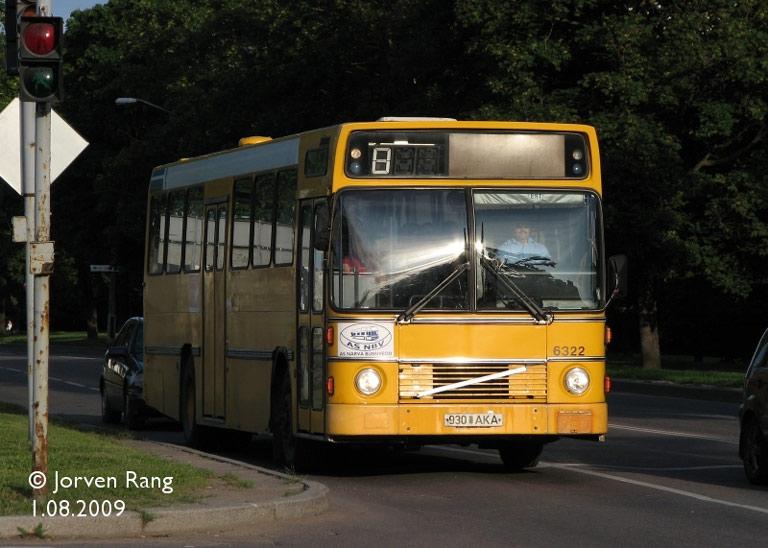 Narva Bussiveod 930AKA i Narva i Estland den 1. august 2009