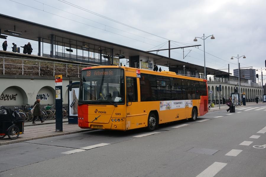 Arriva 1245/UR90691 ved Nordhavn st. i København den 28. marts 2015