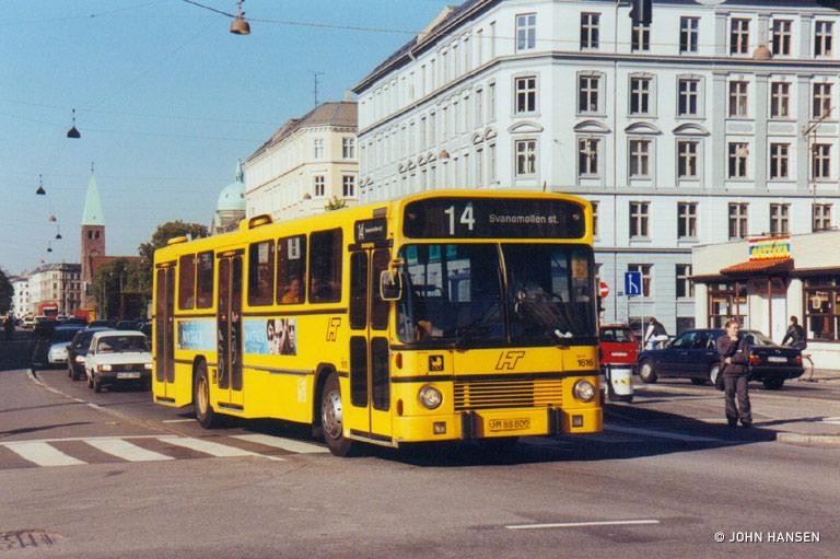 Bus Danmark 1616/JM88800 ved Sølvtorvet i København den 19. maj 1999