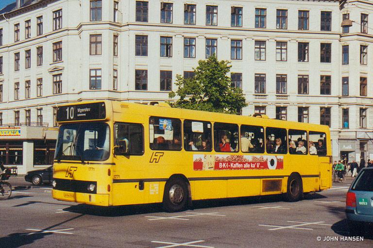 Bus Danmark 1771/LH94508 ved Sølvtorvet i København den 19. maj 1999