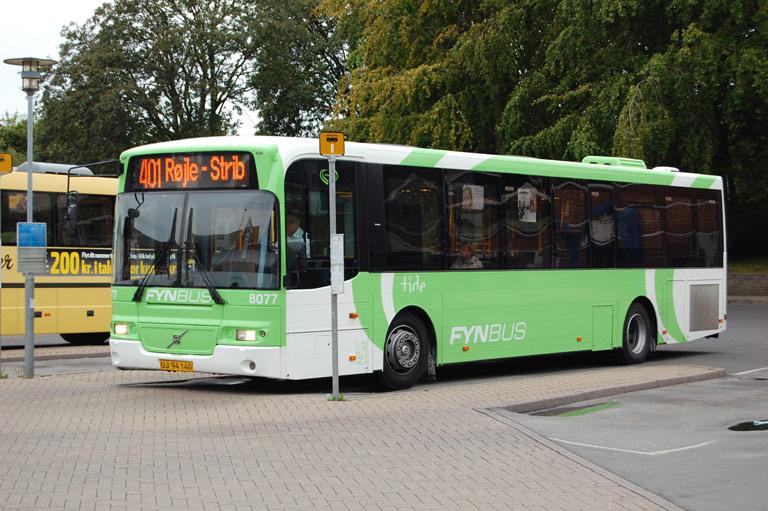 Tide Bus 8077/UJ94140 i Middelfart den 3. august 2009