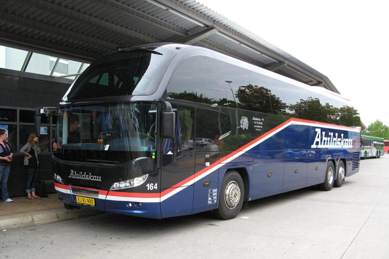 Abildskou 164/XJ91900 på Flensburg ZOB den 9. september 2009