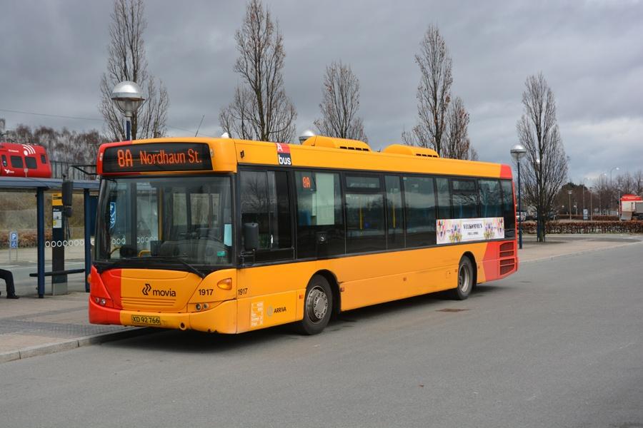 Arriva 1917/XD92766 ved Friheden st. i Hvidovre den 29. marts 2015