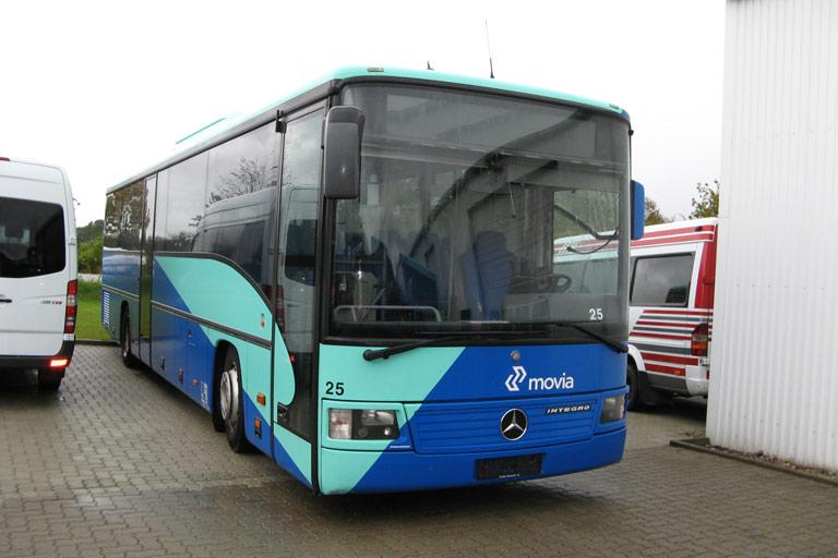 ex. Skørringe Turistbusser 25 i Harrislee i Tyskland den 3. oktober 2009