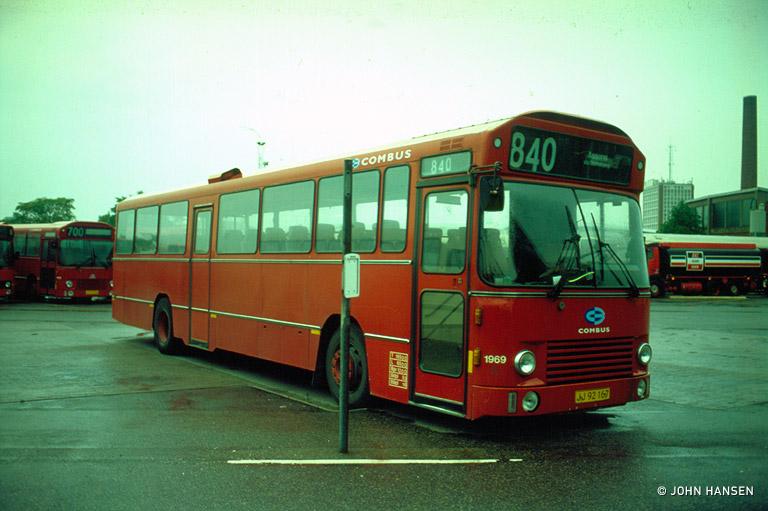 Combus 1969/JJ92167 i Odense den 11. juni 1999