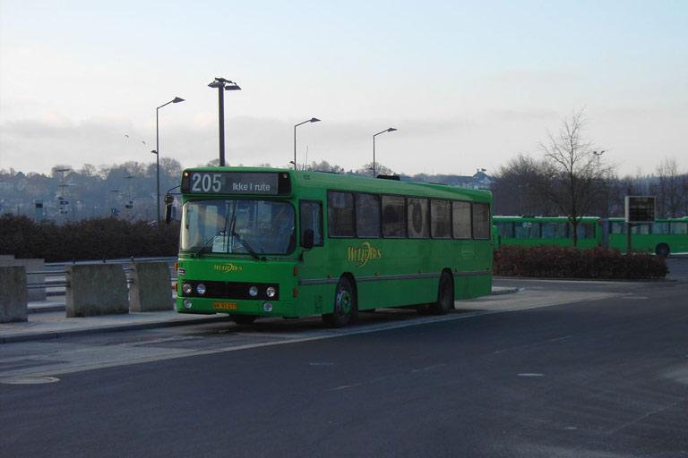Wulff Bus 8050/NX93077 i Vejle den 14. marts 2006