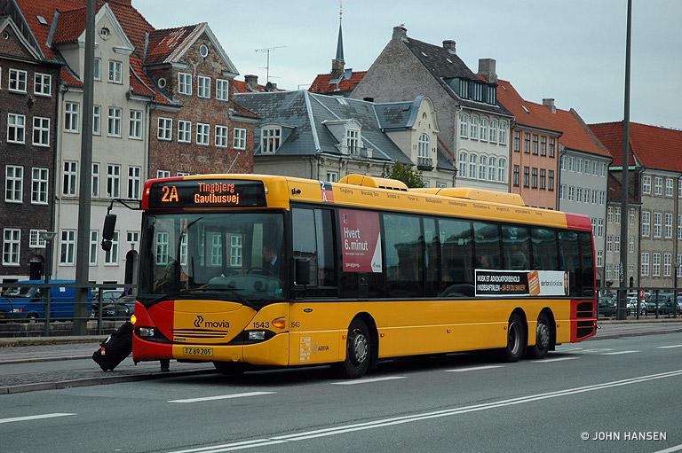 Arriva 1543/TZ89205 på Vindebrogade i København den 23. oktober 2009