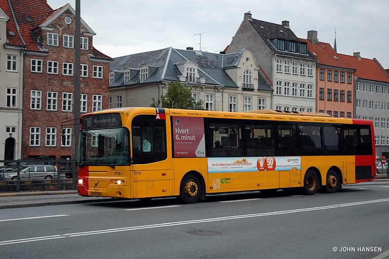 City-Trafik 2713/SR93009 på Vindebrogade i København den 23. oktober 2009