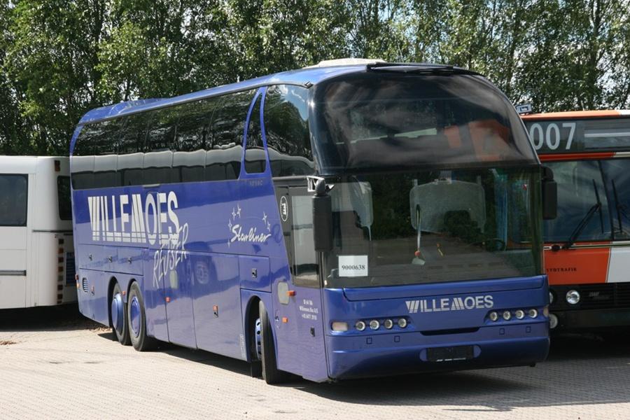 Ex. Willemoes RN89234 ved Bus Center Vest i Kolding den 23. juli 2008