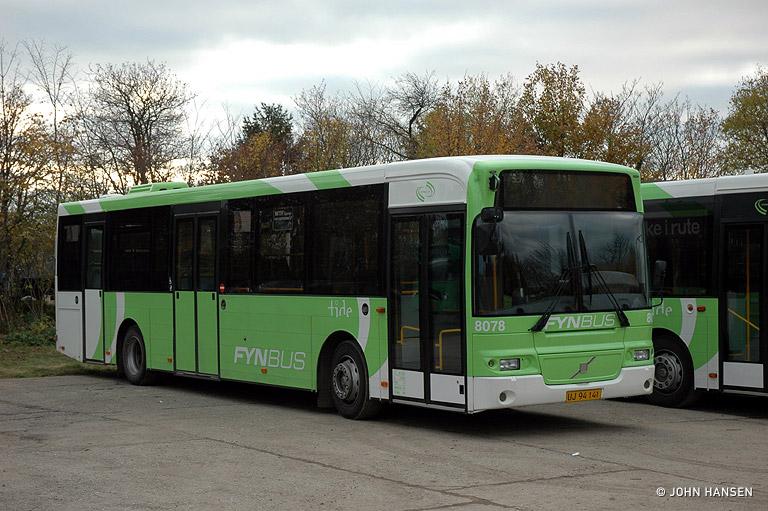 Tide Bus 8078/UJ94141 i Middelfart den 31. oktober 2009