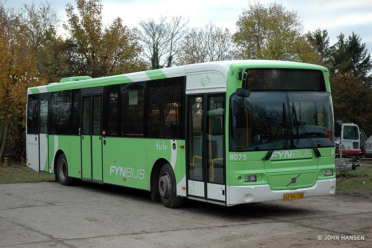 Tide Bus 8075/UJ94138 i Middelfart den 31. oktober 2009