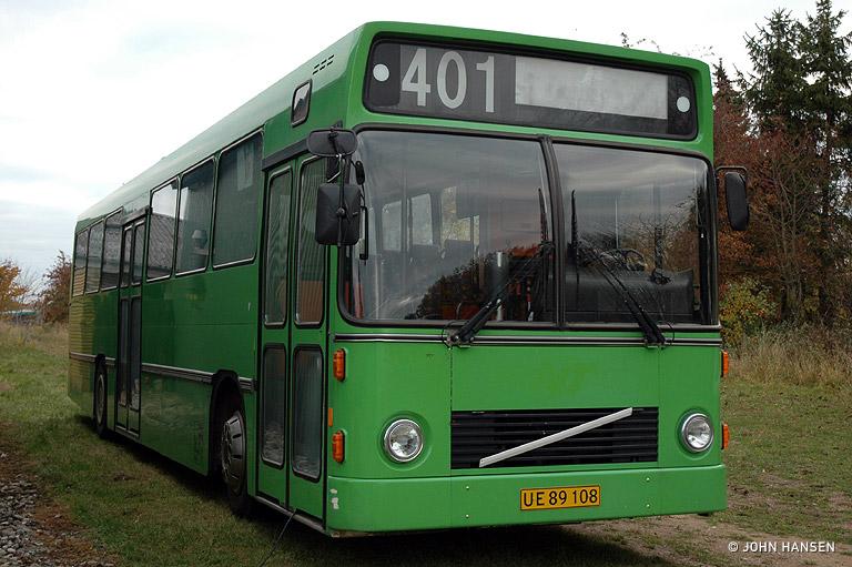 Tide Bus 8184/UE89108 i Middelfart den 31. oktober 2009