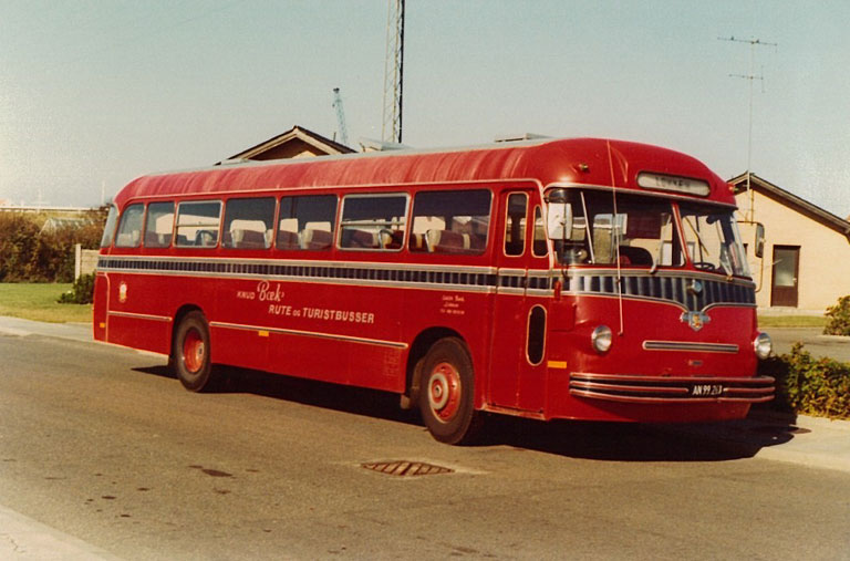 Knud Bæks Rute- og Turistbusser AN99263