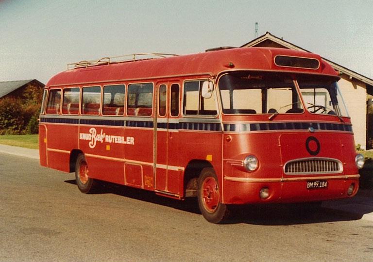 Knud Bæks Rute- og Turistbusser BM99184