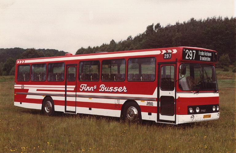 DAB fabriksfoto af Finns Busser JN93380