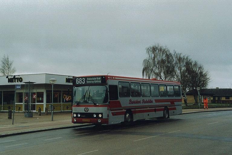 Burskovs Rutebiler 2/JN93599 i Hjallerup