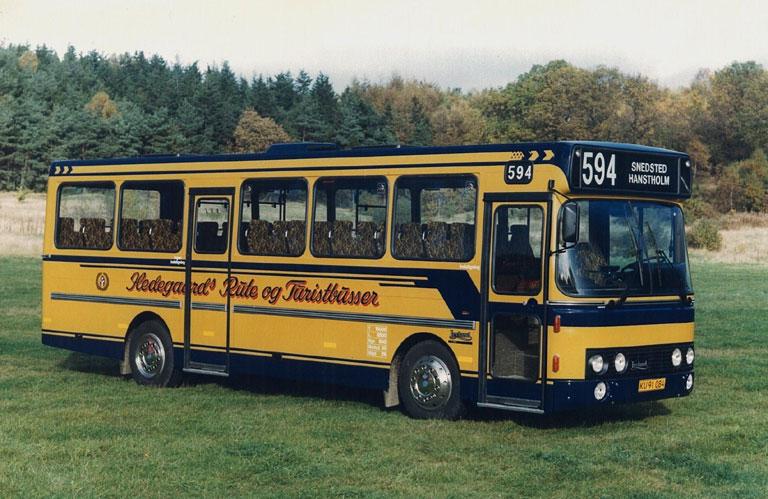 DAB fabriksfoto af Hedegaards Rute og Turistbusser KU91084