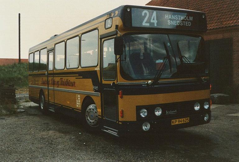 Snedsted Turistbusser KP94625