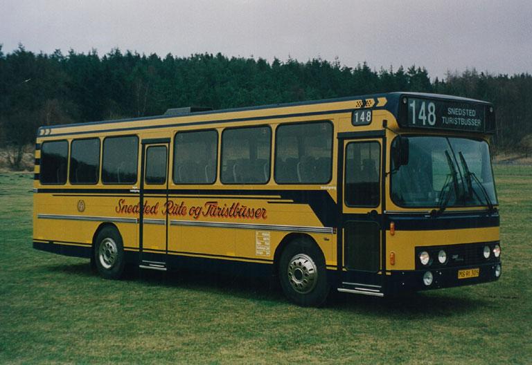 DAB fabriksfoto af Snedsted Turistbusser MS91305