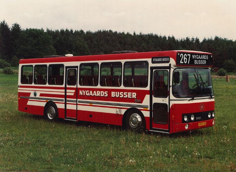 DAB fabriksfoto af Nygaards Busser JM93429