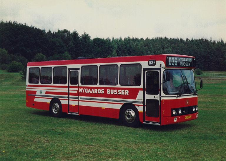 DAB fabriksfoto af Nygaards Busser MC92742