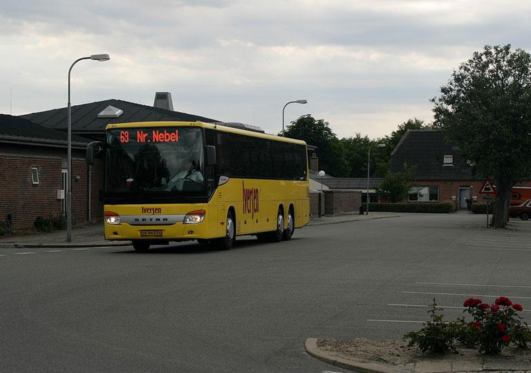 Iversen Busser UX94574 på Nørre Nebel rtb. den 4. juli 2008