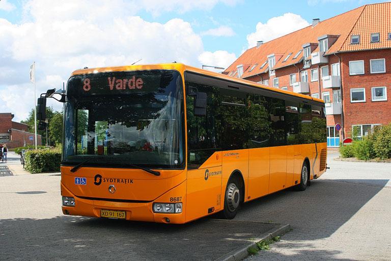 Tide Bus 8687/XD91167 på Varde rtb. den 3. august 2009