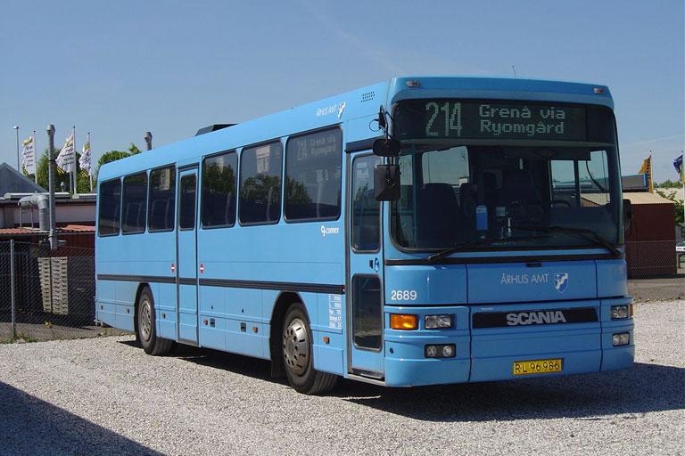 Connex 2689/RL96986 i garagen i Randers den 28. maj 2004
