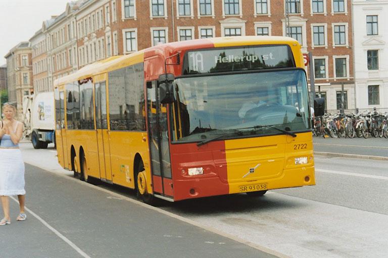 City-Trafik 2722/SR93038 på Tietgensbroen i København den 16. juli 2003