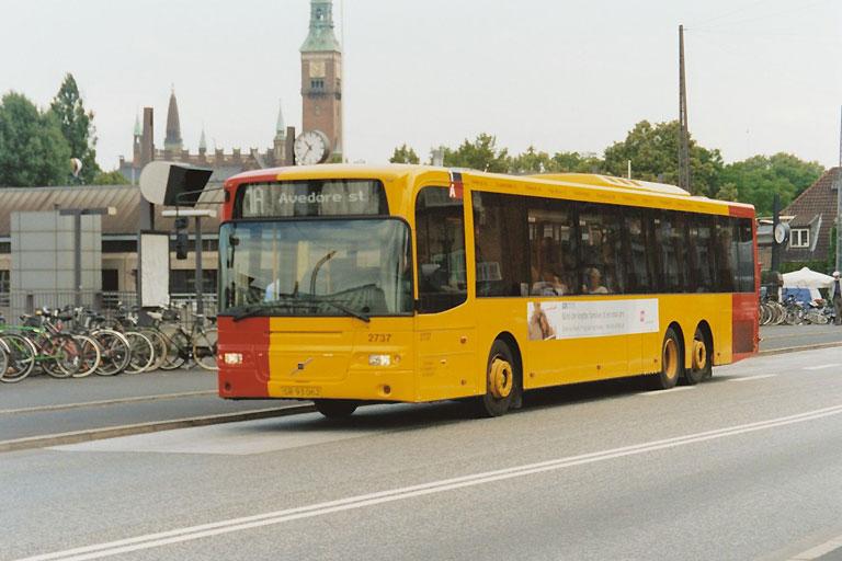 City-Trafik 2737/SR93062 på Tietgensbroen i København den 16. juli 2003