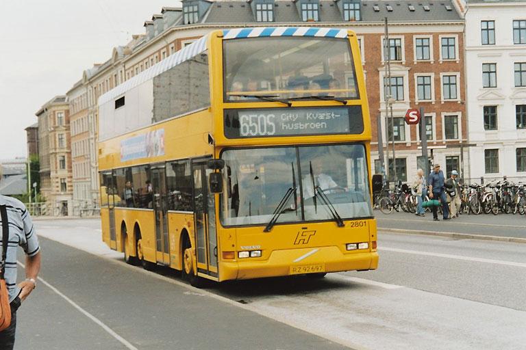 City-Trafik 2801/RZ92697 på Tietgensbroen i København den 16. juli 2003