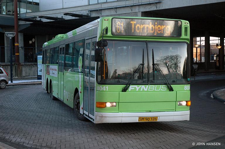 Tide Bus 8041/SM90326 på Odense Banegård Center den 8. januar 2010