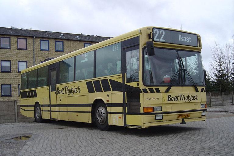 Bent Thykjær 117/OM97831 i Holstebro den 8. april 2006