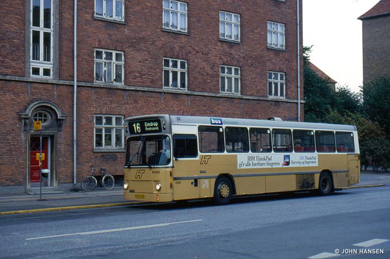 HT 1399/HX96920 på Borgmester Christiansensgade i København den 2. september 1993
