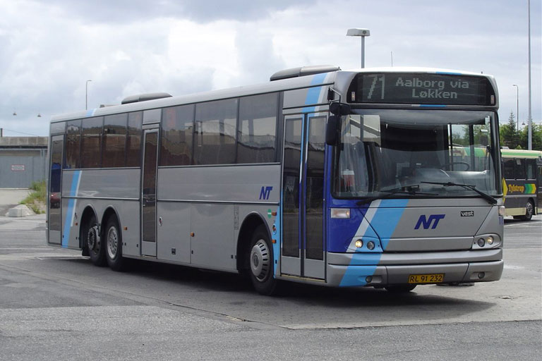 Wulff Bus 163/RL91232 på Aalborg rtb. den 18. juni 2004