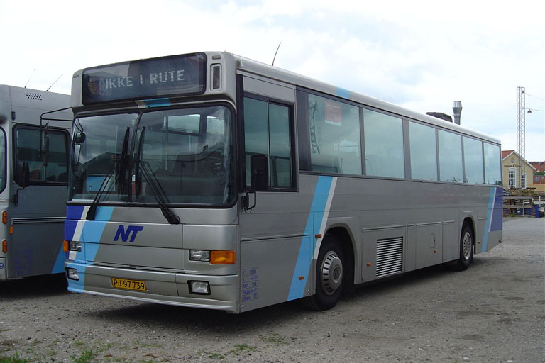 Connex 4024/PJ97739 i garagen i Aalborg den 18. juni 2004