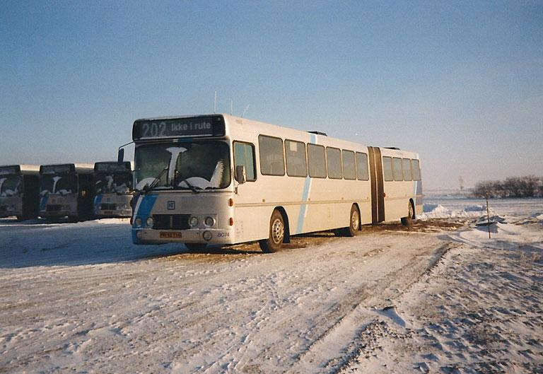 DSB 8074/NM92716 i Vadum den 24. december 1995