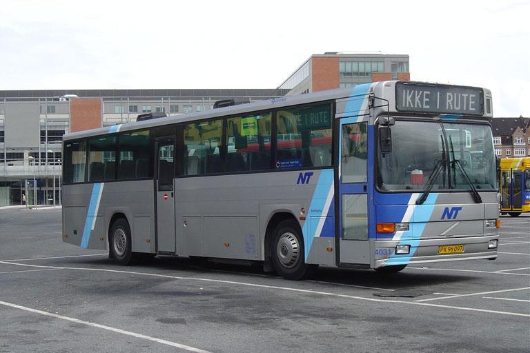 Connex 4031/PX96097 i garagen i Aalborg den 18. juni 2004