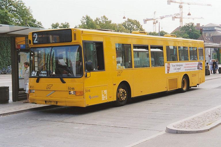 Connex 5018/OY97170 ved København H. den 16. juli 2003