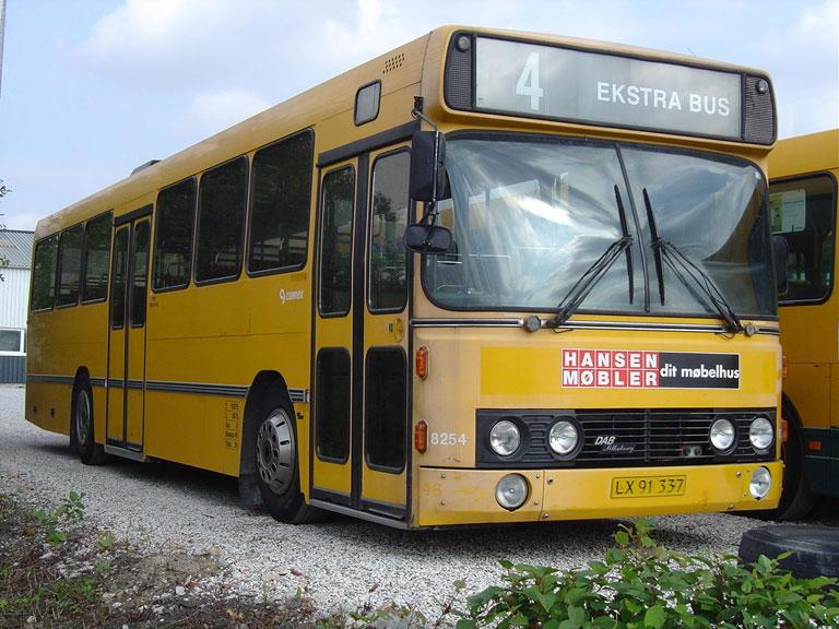 Connex 8254/LX91337 i garagen i Randers den 11. september 2004
