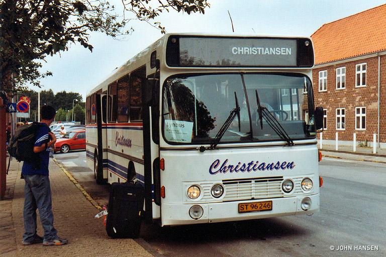 Christiansens Busser ST96246 ved Padborg st. den 20. august 2005