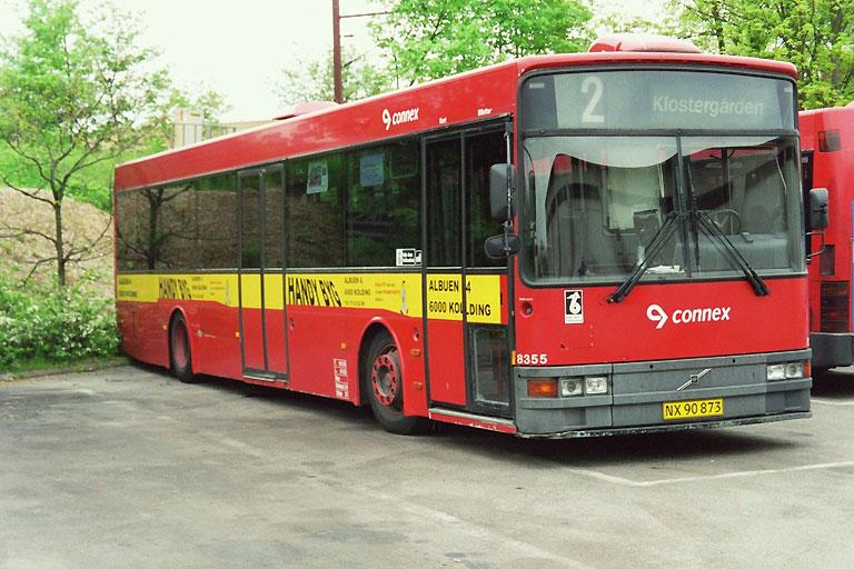 Connex 8355/NX90873 i garagen i Kolding den 11. maj 2004