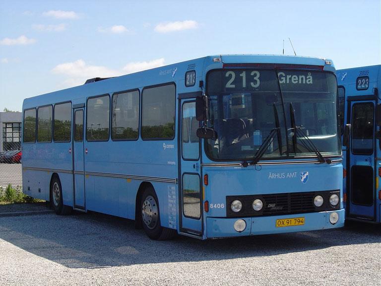 Connex 8406/OX91794 i garagen i Randers den 28. maj 2004